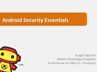 Android Security Essentials
