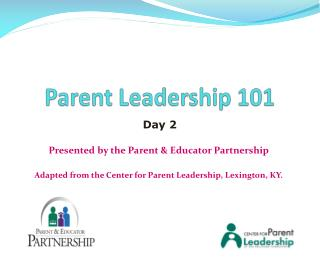 Parent Leadership 101