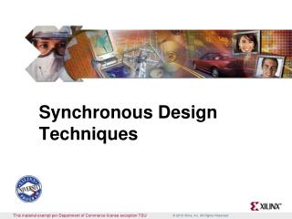 Synchronous Design Techniques