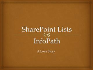 SharePoint Lists