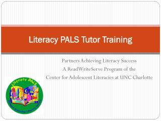 Literacy PALS Tutor Training