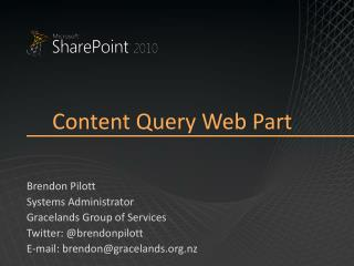 Content Query Web Part