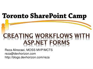 Creating Workflows with ASP.NET Forms