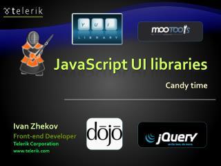 JavaScript UI libraries