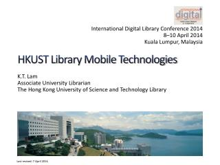 HKUST Library Mobile Technologies
