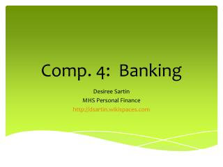 Comp. 4:  Banking