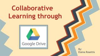 Collaborative Learning through