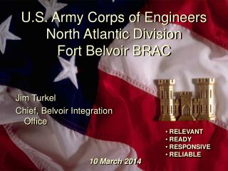 u.s. army corps of engineers north atlantic division fort belvoir brac