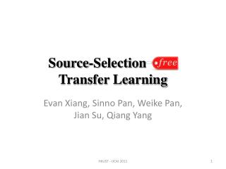 Source-Selection-Free  Transfer Learning
