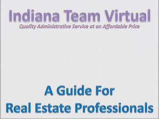 Indiana Team Virtual