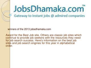 Jobsdhamaka - Connect directly with best employers