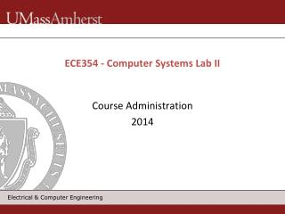 ECE354 - Computer Systems Lab II