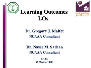 Learning Outcomes LOs