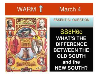 WARM              March 4