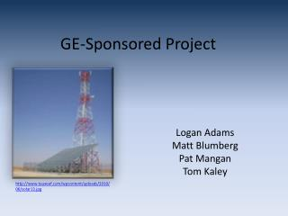 GE-Sponsored Project