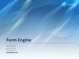 Form Engine