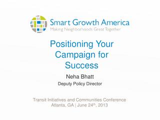 Positioning Your Campaign for Success