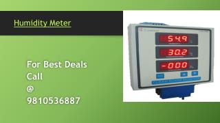 Conductivity ORP Flow Meter