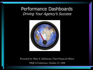 Performance Dashboards  Driving Your Agency�s Success