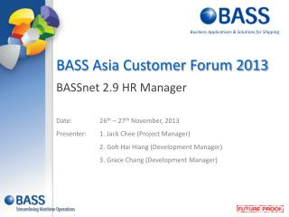 BASSnet 2.9 HR Manager