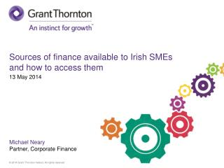 Sources of finance available to Irish SMEs and how to access them
