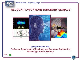 RECOGNITION OF  NONSTATIONARY SIGNALS