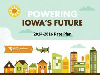 2014-2016 Rate Plan