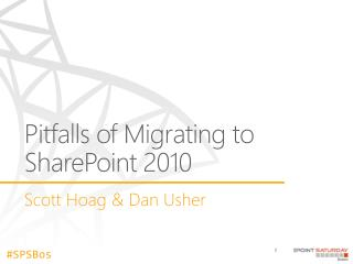 Pitfalls of Migrating to SharePoint 2010