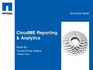 CloudME Reporting & Analytics
