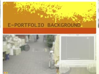 E-Portfolio Background
