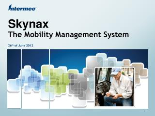 Skynax The Mobility Management System