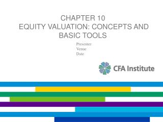 Chapter 10  Equity Valuation: Concepts and Basic Tools