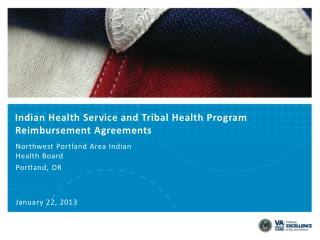 Indian Health Service and Tribal Health Program Reimbursement Agreements