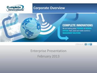 Enterprise Presentation February 2013