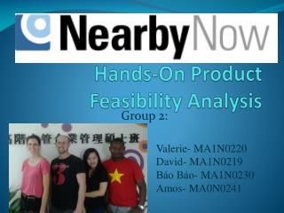 Hands-On Product Feasibility Analysis