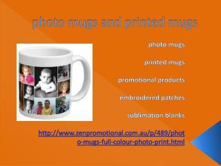 photo mugs and printed mugs