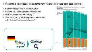 1. Pessimistic  (European) vision  ( EU5: 12% revenue decrease from 2008 to 2013 )