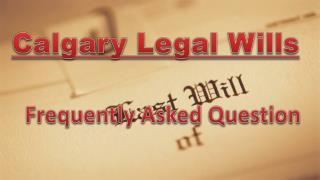 Calgary Legal Wills FAQ - Religious Beliefs