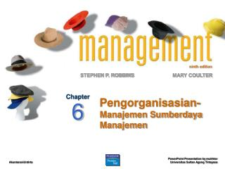 Pengorganisasian- Manajemen Sumberdaya Manajemen