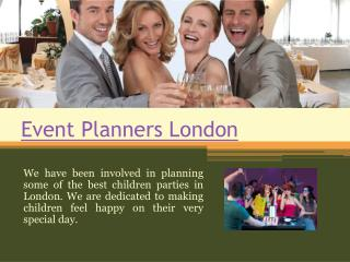 Wedding Planners London