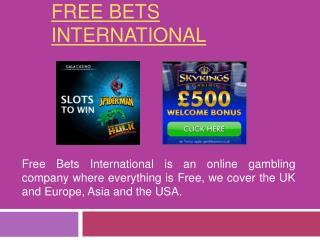 Free Bets International Ltd