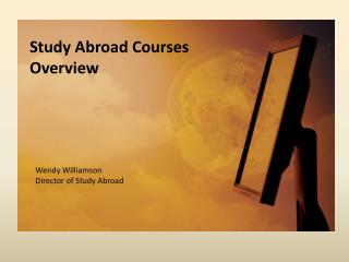 Study Abroad Courses Overview