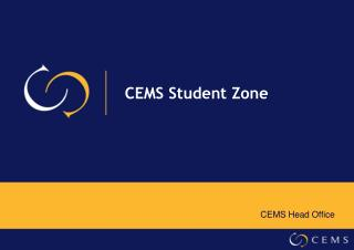 CEMS Student Zone
