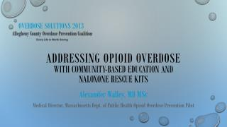 Overdose Solutions 2013