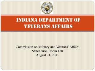 Indiana Department of Veterans Affairs
