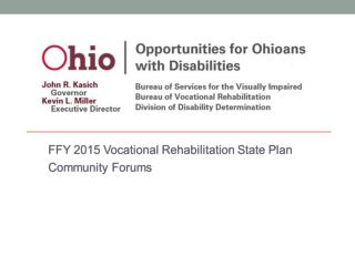 Ohio's Vocational Rehabilitation Program