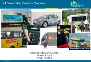 NJ Clean Cities  Coalition Overview