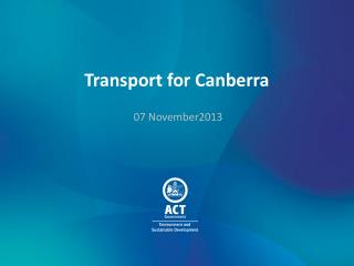 Transport for Canberra