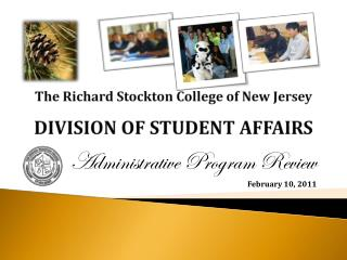 The Richard Stockton College of New Jersey DIVISION OF STUDENT AFFAIRS