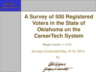 Margin of error: +/-  4.3%